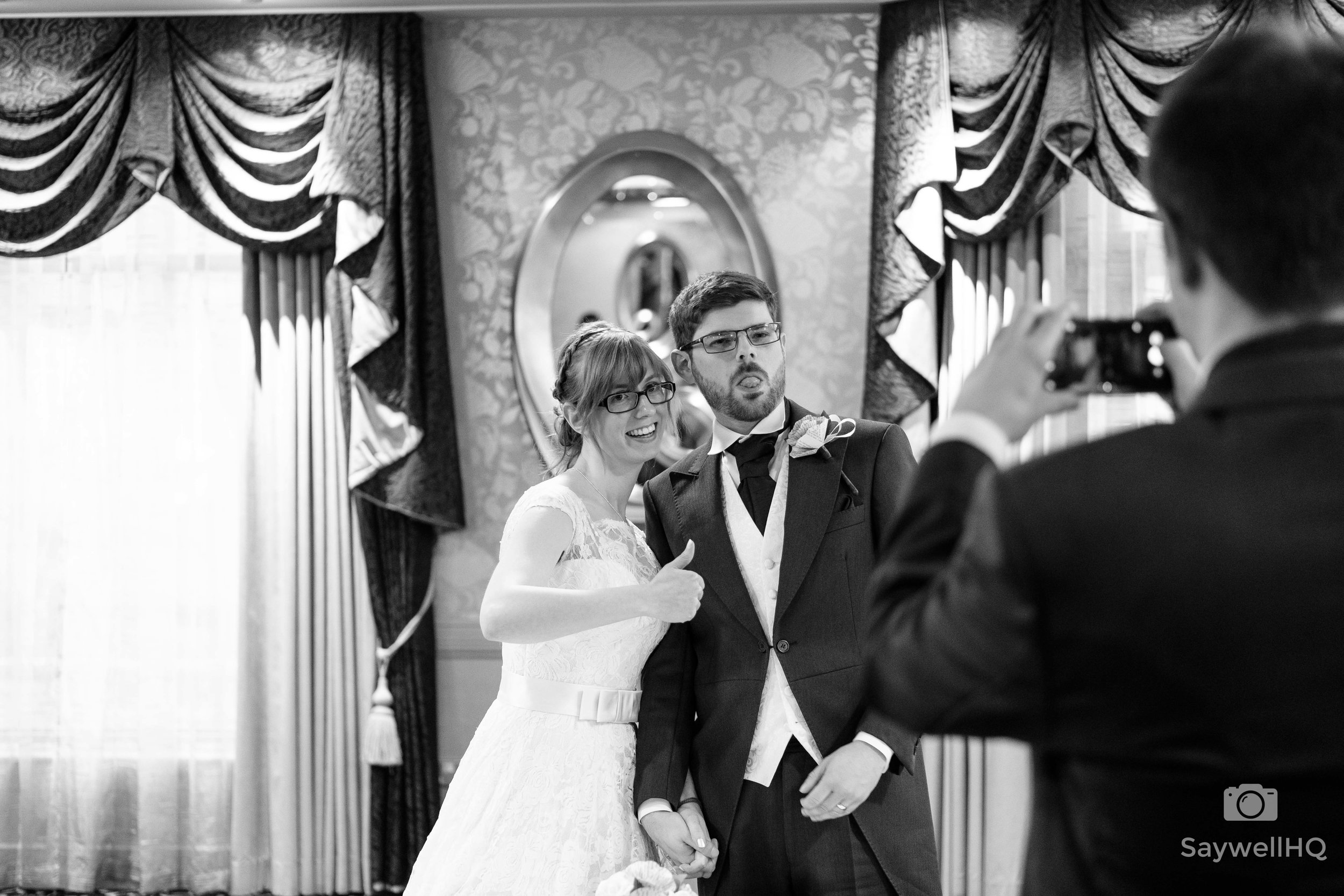 Happy Anniversary - Claire and Josh - Wedding at The Belmont Hotel in Leicester