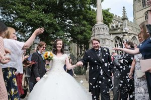 St Mary's Church Nottingham - Candid Wedding Photography