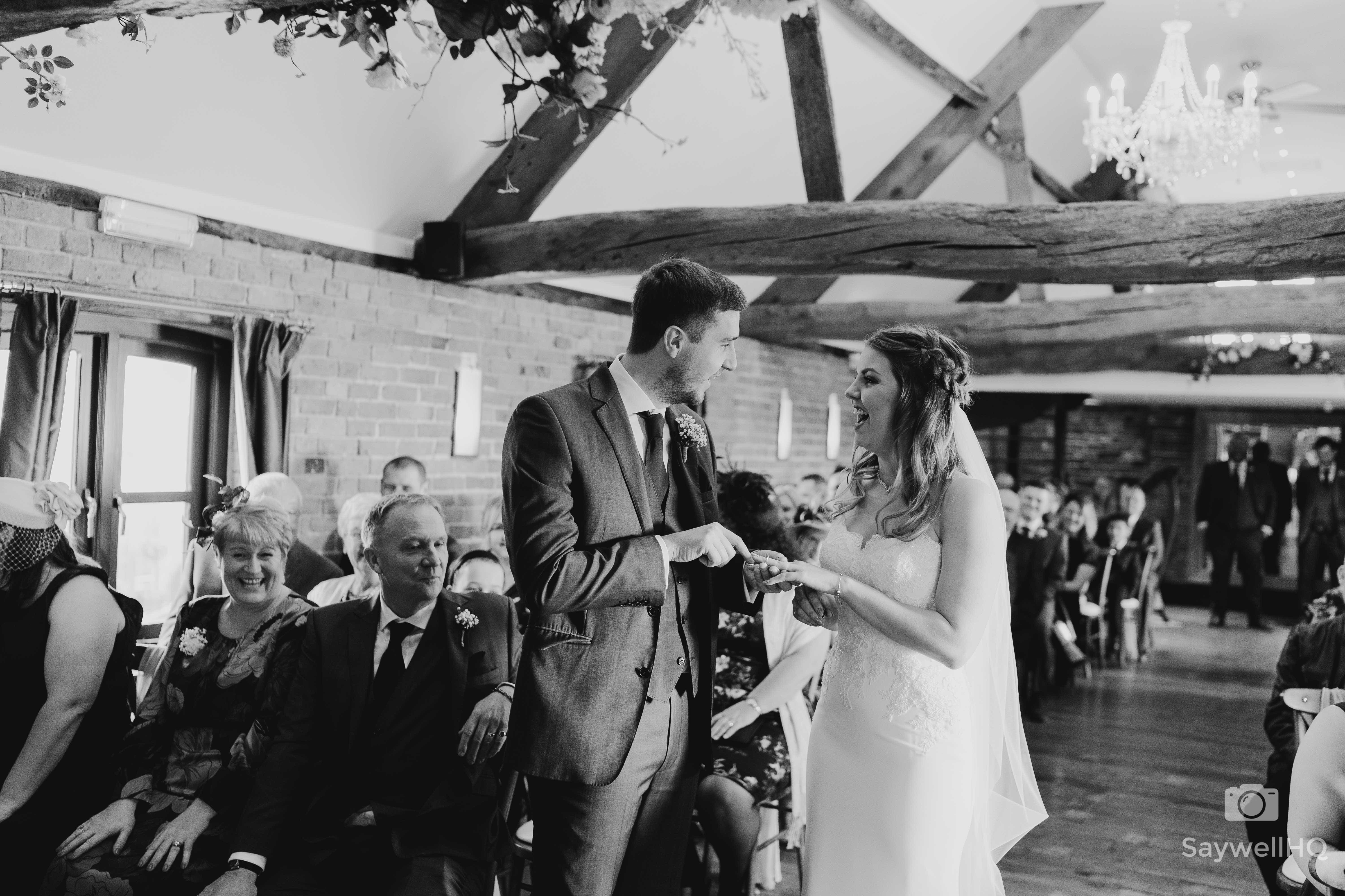 Wedding Photography at Swancar Farm Country House