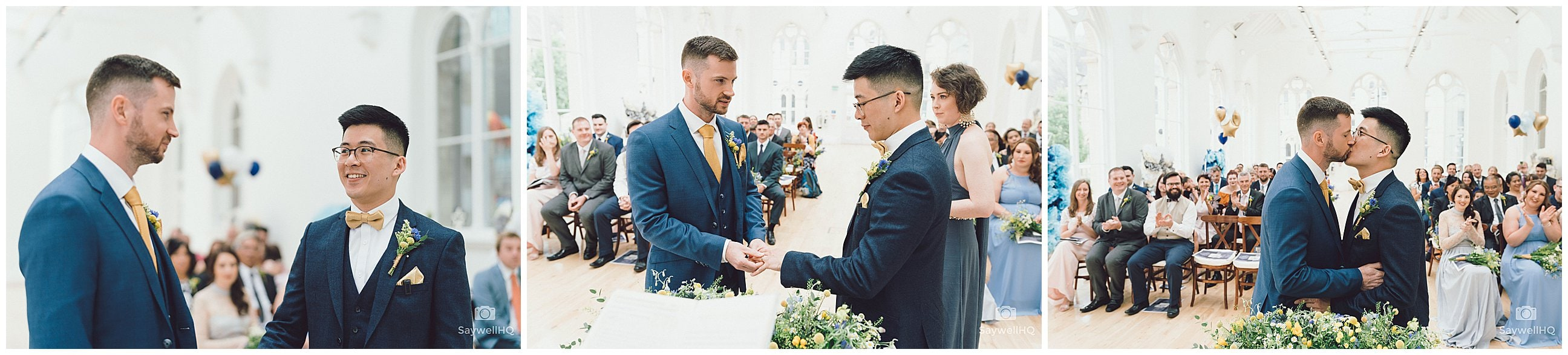 Same sex wedding photography Nottingham - marriage vows