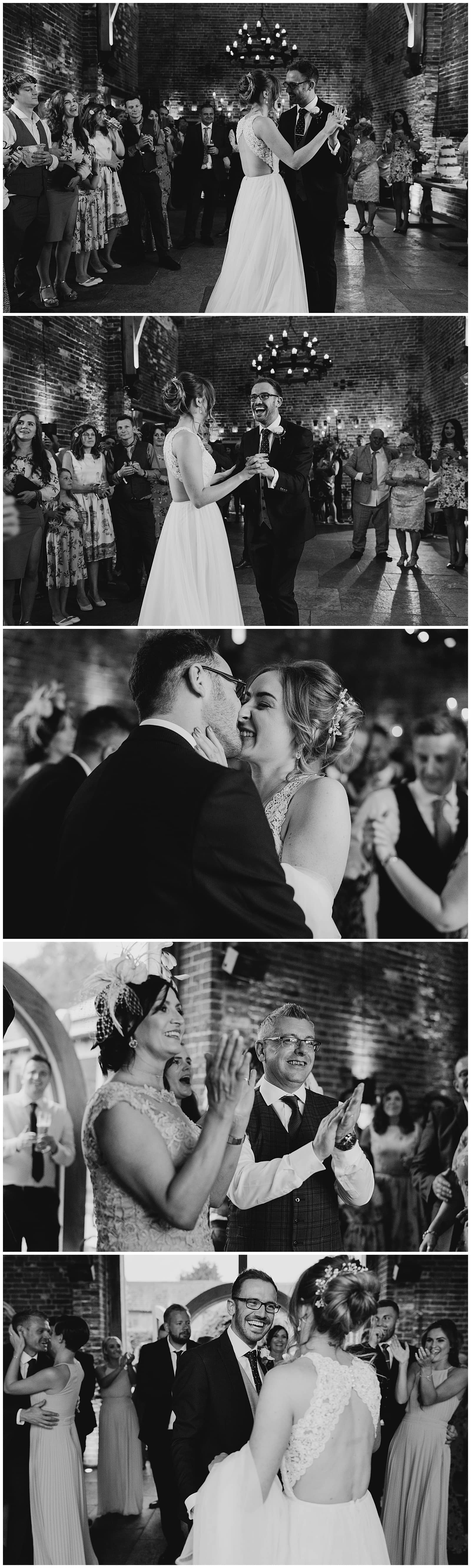 Wedding Photography at Hazel Gap Barn – awesome first dance