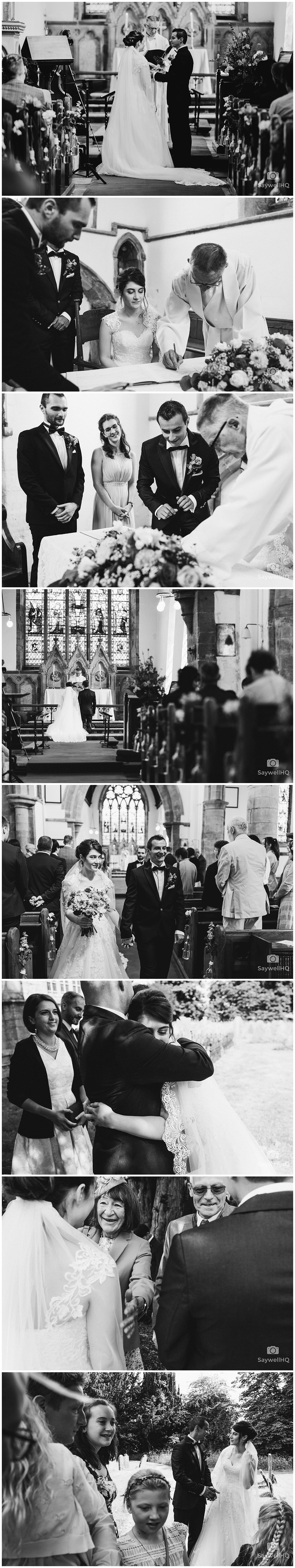 Nottingham Church Wedding Wedding Photography - Church wedding post ceremony celebrations with family and friends
