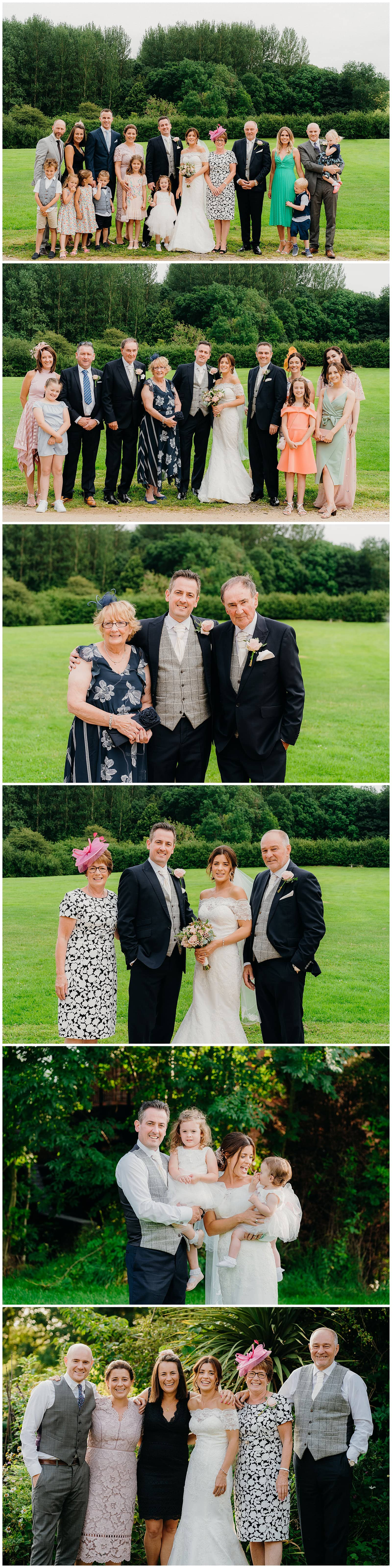 The Chequers Inn Woolsthorpe Wedding Photography - wedding guests chat during the wedding breakfast