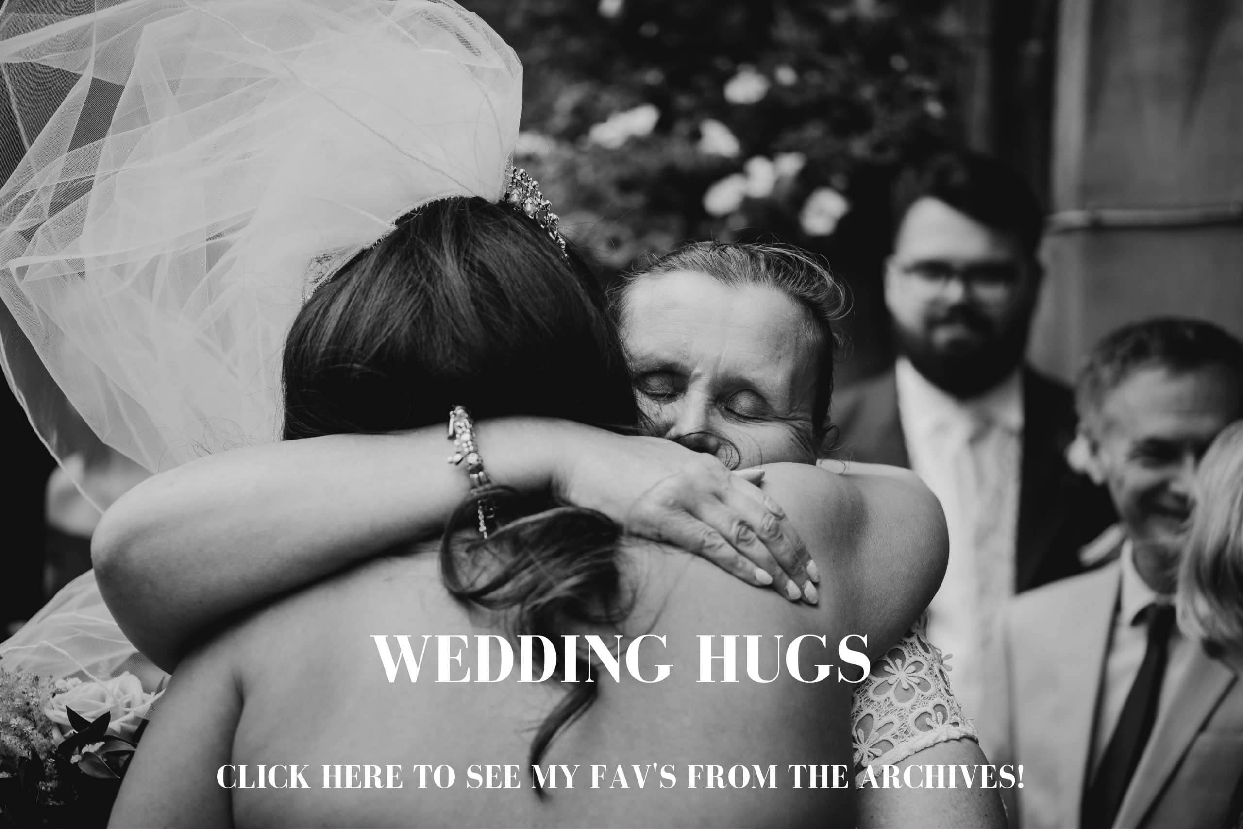 Emotional hugs at weddings by Andy Saywell - A Wedding photographer based in the UK