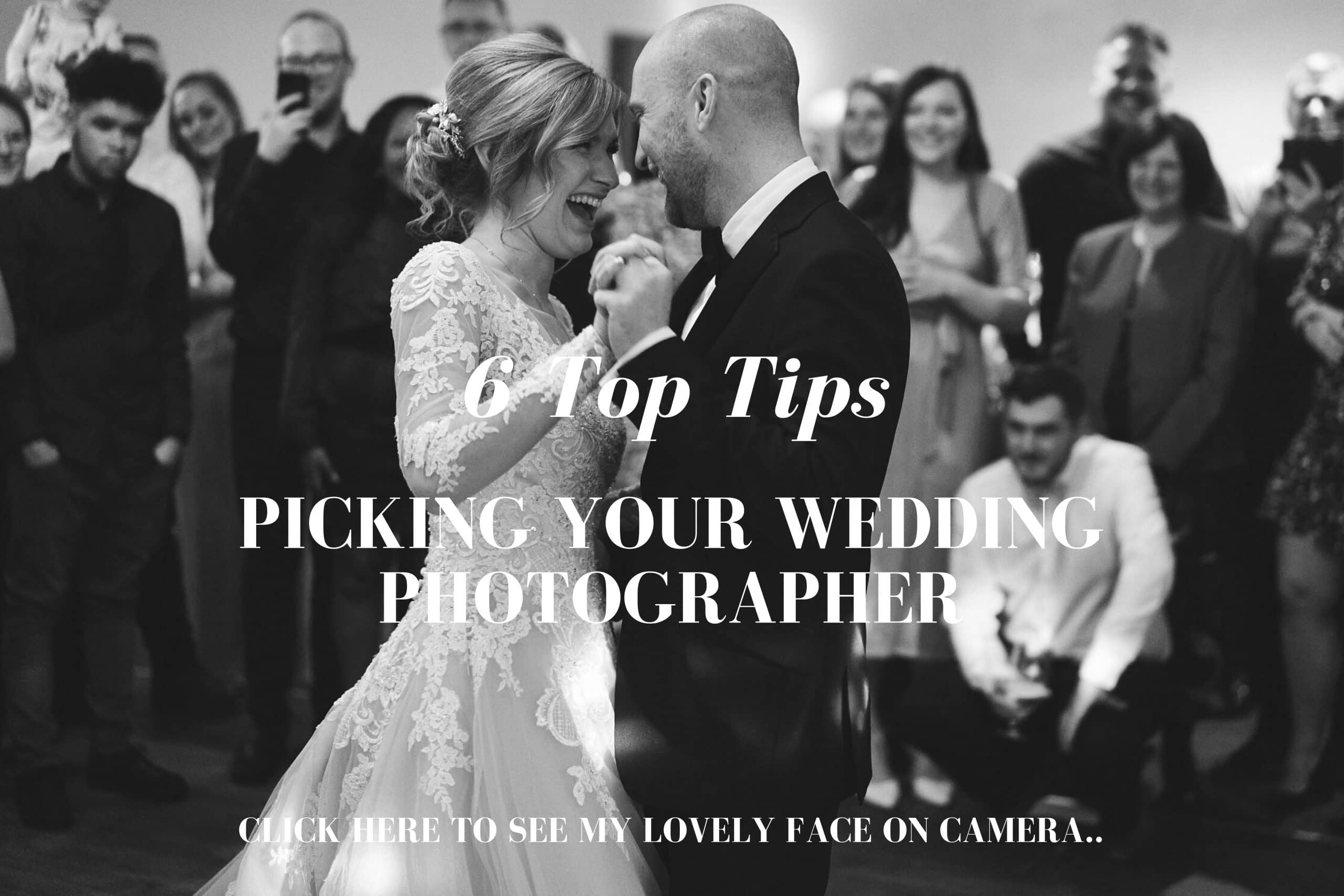 Top Tips for Picking your wedding photographer by Andy Saywell - Wedding photographer based in the UK