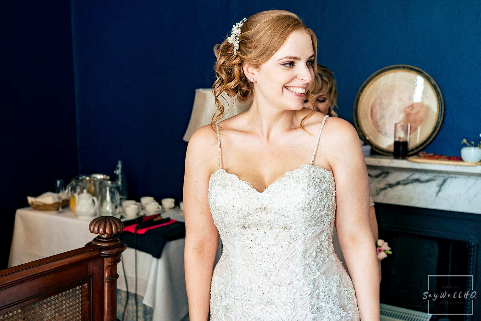 Wedding photography at Prestwold Hall -