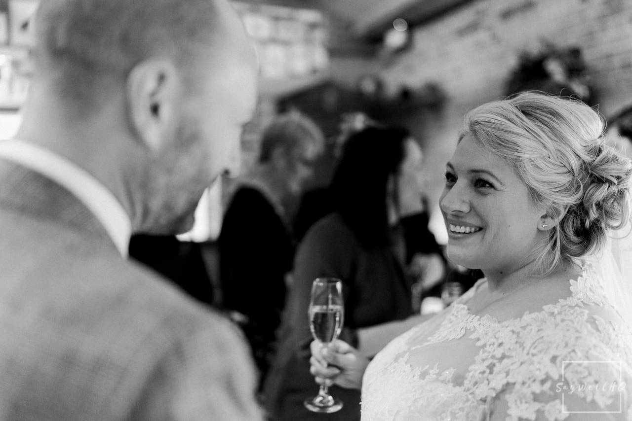 The Carriage Hall Wedding Photography + Carriage Hall Wedding Photographer + Bride and groom celebrate with their family and friends after their wedding ceremony
